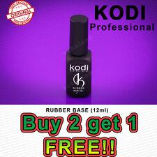 Buy 2 Get the 3rd Free! Kodi Nail Gel Polish Led Uv Rubber Base 12 ml Exp:2018