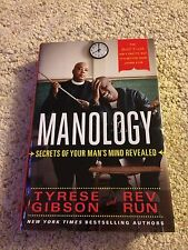 Rev Run and Tyrese Gibson Manology Signed Book autograph COA