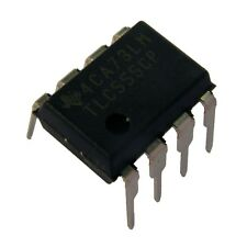 5 TLC555 Timer DIP-8 Texas Instruments CMOS Timer IC TLC555CP DIP8 854795