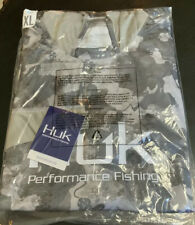 Huk 💦� Icon X Refraction Camo Storm X-Large Long Sleeve Hoodie Fishing Shirt