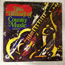 "The History Of Country Music Volume 2 [vinyl - 2x12""]"
