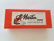 Vintage~ Martin~ Large Fishing Lure ~ 7 inches Original Box Usa
