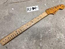 Vintage Warmoth Stratocaster Electric Guitar Neck Birdseye Maple