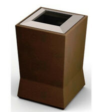 Commercial Zone 20 Gallon ModTec Waste Container w/ Liner Color: Old Bronze