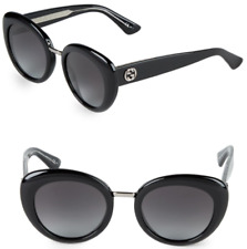 ad54050dded6 GUCCI GG 3808 S Women Cat Eye Sunglasses Shiny Black Grey Gradient Lenses  Y6C9O