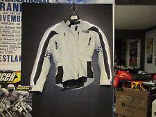 USED LADIES FIELDSHEER MOTORCYCLE JACKET,COAT WITH LINER & ARMOR GRY/BLK SIZE 6