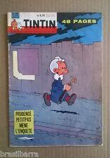 TINTIN Fascicule n° 607 12ème Année du 9 juin 1960