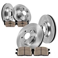Front+Rear Brake Rotors & Ceramic Pads For Lexus GS350 GS430 GS450H GS460 IS350