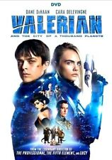 NEW: Valerian and the City of a Thousand Planets (DVD, 2017) SHIPS ON!! 11-21-17