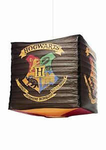 Harry Potter Light Shade Official Hogwarts Cube Paper Ceiling Lampshade