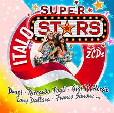 CD ITALO SUPER STARS D'Artistes Divers 2CDs