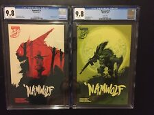 NAMWOLF #1 CGC 9.8 - 2 Comic Lot - Special Edition Variant, Albatross, NM/M