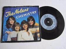 "THE NOLANS - CHEMISTRY - 7"" 45 rpm vinyl record"