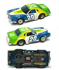 1979 Aurora Thunderbird Stock Slot Car Afx G+ Chassis Very Fragile Body is Nice
