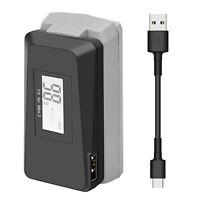 Fast Ladegerät Batterie Display USB Charging Für DJI Mavic Mini 2 Drohne Zubehör