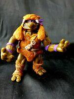 Vintage TMNT Teenage Mutant Ninja Turtles Caveman Donatello Figure Toy 1993
