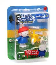 Miffy's Adventures Big & Small RIDE ALONG WITH MIFFY Set-  New - Jazwares 12951