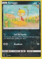 POKEMON SCRAGGY 50/73 COMMON REVERSE HOLOFOIL NM CARD  SHINING LEGENDS