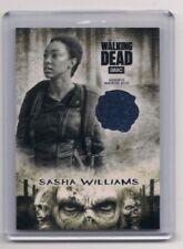 WALKING DEAD HUNTERS & THE HUNTED SONEQUA MARTIN-GREEN/SASHA RELIC CARD