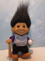 """ROCKIES GOOD LUCK SPORTS TROLL DOLL - 5"""" Russ Troll Doll"""