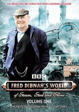 Fred Dibnah's World Of Steam, Steel And Stone Vol 1 (DVD) / First 6 Episodes