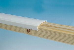 Window Capping 25mm White - 10m Roll - Caravan / Camper  - PO625