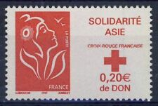 STAMP / TIMBRE FRANCE N° 3745 ** SOLIDARITE ASIE MARIANNE