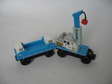 Hielo Crane Car Curva De Aprendizaje De Tren De Madera Motor (Brio Thomas)