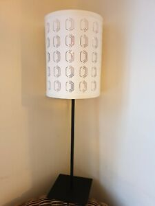 Ikea Table Light Lamp White And Gold Shade