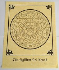 THE SIGILLUM DEI AMETH QUICK REFERENCE GUIDE - Seal of God - Pagan Middle Ages