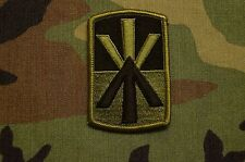 Authentic US Army 11th ADA Brigade BDU Subdued Sew On Military Patch