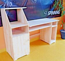 Büromöbel Computertisch Schreibtisch PCTisch Schülerschreibtisch VOLLMASSIVHOLZ