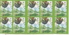 P188 Singapore Pb 10 x 1516 postfris Vogels
