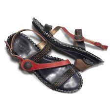 L'artiste Spring Step Sz 40 Dreamer Dress Sandals US 9 Black Red White
