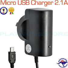 2.1A Micro USB Wall Home Travel AC Power Charger AU Plug Samsung HTC Phone Tab