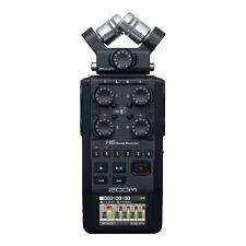 Zoom H6 24-Bit 96kHz WAV/MP3 Audio Recorder w/USB Computer Interface - All Black