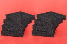 Juwel Standard compatible: 8 Carbon Filter Pads - Bioflow 6.0