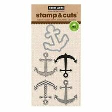Anchor Hero Arts Clear Stamp & Cut Thin Metal Die Set DC144 NEW!