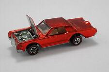 Hot Wheels CONTINENTAL MARK III - VINTAGE REDLINE & COLLECTOR BUTTON
