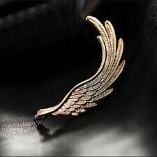 1PC Fashion Women Gold Wing Gothic Punk Rock Style Ear Cuff Wrap Clip Earring