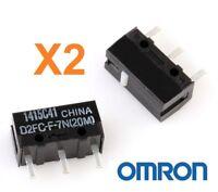 Micro Interruptor OMRON D2FC-F-7N (20M) - Reparacion Ratones - Pack 2 Unidades