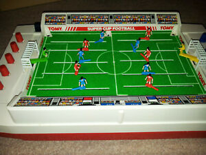 TOMY  SUPER CUP FOOTBALL BOXED! Fully Working Order,very Good Condition