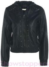 Vêtements noir avec capuche pour fille de 2 à 16 ans Automne