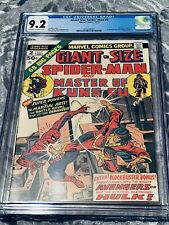 New listing Giant Size Spider-Man #2 Cgc 9.2