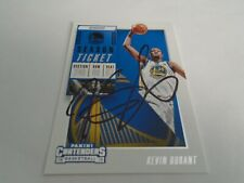 KEVEN DURANT SIGNED CARD PROOF LOOK BROOKLYN NETS GOLDEN STATE WARRIORS W/COA!