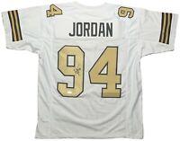 Cam Jordan autographed signed jersey NFL New Orleans Saints JSA COA