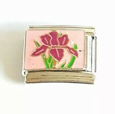 Beautiful Flower Italian Charm Bracelet Charm Link