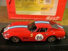 1/43 Best Ferrari 275 GTB / 4 Le Mans 1966 #26