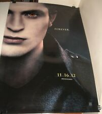 ROLLED 2012 TWILIGHT BREAKING DAWN  ADVANCE 2 SIDED 1 SHEET MOVIE POSTER