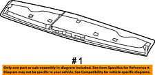 CHRYSLER OEM-Spoiler / Wing Kit ZW33RXFAB
